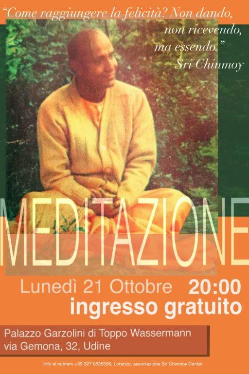 Evento: corso gratuito di meditazione a Udine